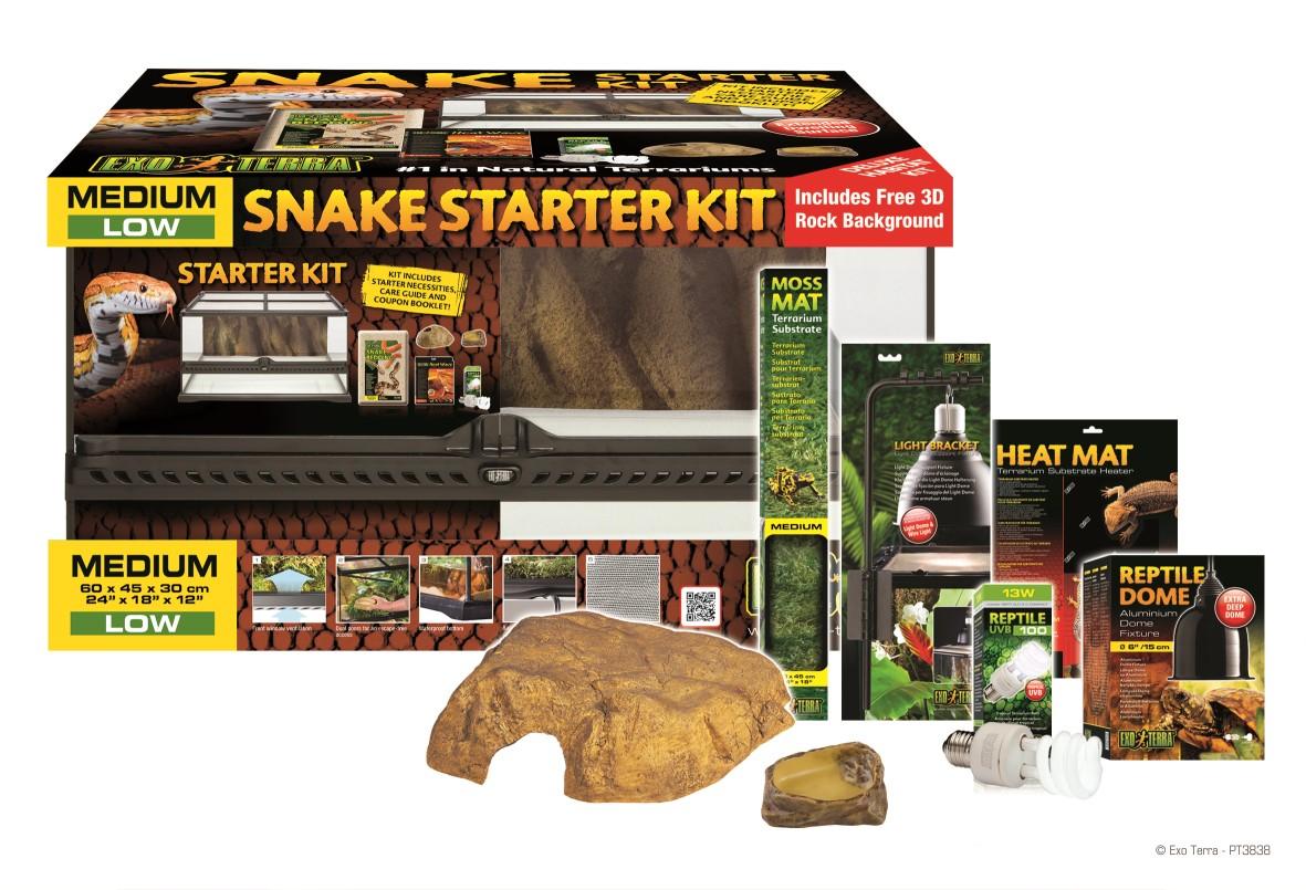 Clickapet Exo Terra Snake Starter Kit